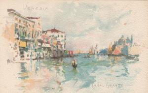 VENEZIA , Italy , 1901-07 ; Canal Grande