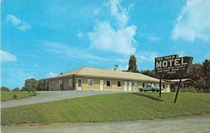 White Post Virginia birds eye view The Farm Motel vintage pc Y15688
