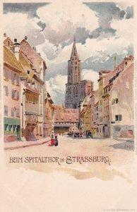 STRASSBURG, France [When Germany] , 1890s ; Beim Spitalthor