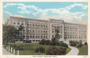 Massachusetts Rockland High School Curteich