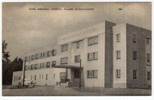 Palmer, Massachusetts, Wing Memorial Hospital