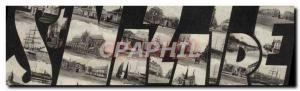 Postcard Old Saint Nazaire