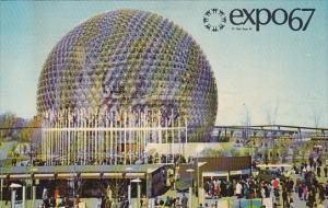 Canada Montreal Expo 67 Pavilion Of The United States
