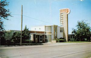 The Motor Lodge, ultra modern rooms 1956
