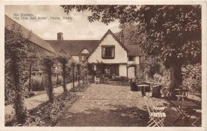 HURLEY BERKSHIRE UK YE OLDE BELL HOTEL~THE GARDENS~ POSTCARD 1920s