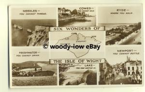 h0945 - Six Wonders of The Isle of Wight - Multiview postcard