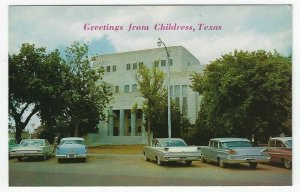 Vintage Postcard With Greetings From Childress, Texas
