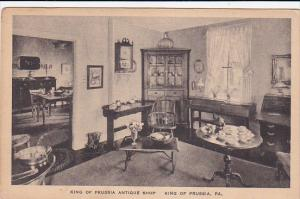 KING OF PRUSSIA, Pennsylvania, 1900-1910's; King Of Prussia Antique Shop