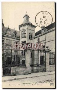 Old Postcard Thunder Bank Caisse d & # 39Epargne Old Hotel d & # 39Uzes