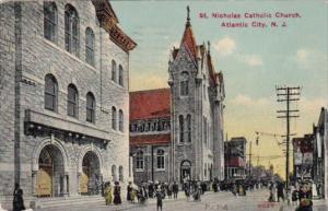 St Nicholas Catholic Church Atlantic city New Jersey 1911