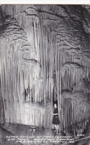 Stage Curtains 4th Floor Meramec Cavern Stanton Missouri Real Photo