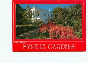 Postcard Mynelle Gardens Jackson Mississippi 1000 diff plants  # 4135A