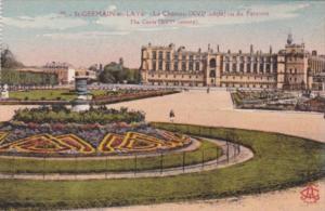 France St Germain-en-Laye Le Chateau vu du Partarre