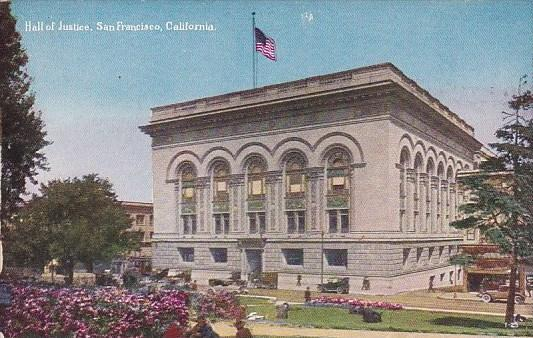 Hall Of Justice San Francisoco California