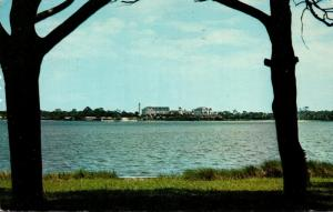 Florida Ormond Beach Scene On Halifax River 1971