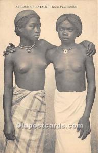 Jeunes Filles Betsileo African Nude Unused