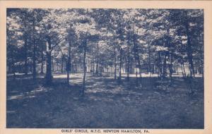 Girl's Circle , M.T.C. NEWTON HAMILTON , Pennsylvania , 20-40s