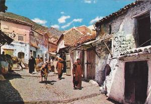 Village Street view , Morocco , 50-70s
