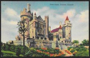 Casa Loma Toronto CANADA Unused c1930s