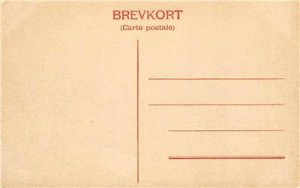 Skede, Parti af Hällaryd, Sweden? ca 1910s Brevkort Vintage Postcard