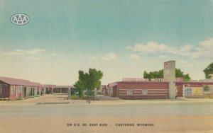 CHEYENNE , Wyo. , 1930-40s ; Minnehaha Motor Lodge ; Lincoln Highway