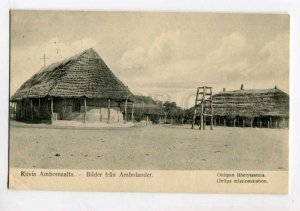 401057 NAMIBIA Amboland Oniipa mission station 1921 year RPPC