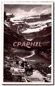 Gavarnie Old Postcard path circus