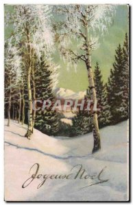Old Postcard Fantasy Merry Christmas