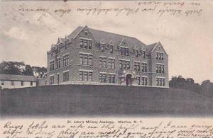 New York Manlius saint Johns Military Academy 1912