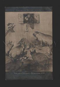 078820 Charm Country Life w/ Big PIGS by ROSELER Vintage COMIC