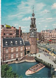 Post Card Netherlands AMSTERDAM Mint Square