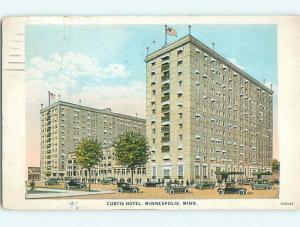 W-Border OLD CARS & CURTIS HOTEL Minneapolis Minnesota MN u9579