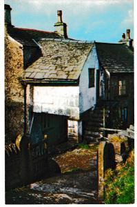 Post Card Cumbria Lake District HAWKSHEAD PILLAR COTTAGE  Webster LK 80