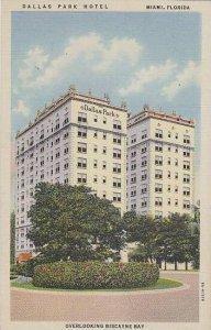 Florida Miami Dallas Park Hotel Overlooking Biscayen Bay