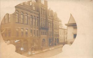 E93/ Wellsburg West Virginia RPPC Postcard 1906 City Building 4