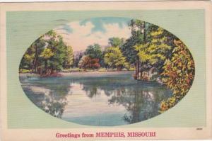 Missouri Greetings From Memphis 1951