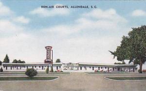 Bon-Air Courts, Allendale, South Carolina, 30-40s
