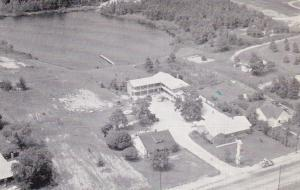 Aerial view, Pageland Motel, U.S. 601., Pageland, South Carolina, PU_1977