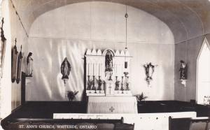 RP: Interior , St Anne's Church (Catholic) , WHITESIDE , Ontario , Canada , 3...