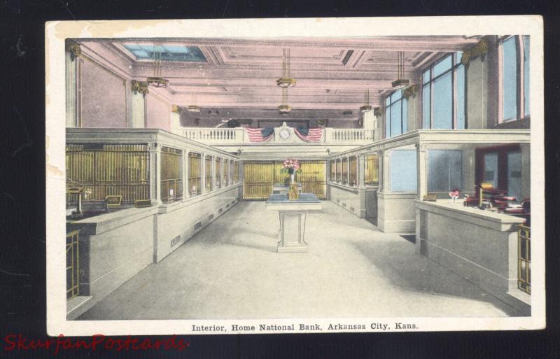 Design Vintage Bank.Arkansas City Kansas Home National Bank Interior Antique Vintage