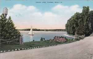 Michigan Alpena Sailing On Grand Lake