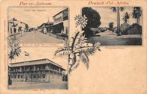 German East Africa Tanzania, Dar-es-Salaam, Akazien, Hotel zur Stadt, Wissmann