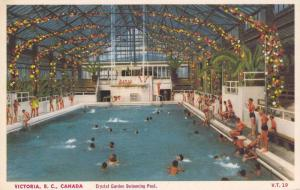 Crystal Garden Swimming Pool, Victoria, British Columbia, 40-60s