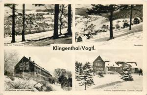 Germany Klingenthal multi views 1950s