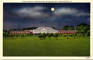 Virginia Winchester Handley High School At Night