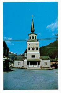 Russian Church , Sitka , Alaska, 40-60s
