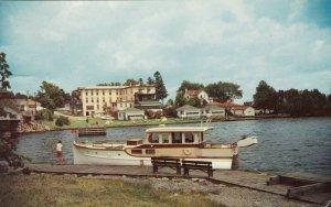 GANANOQUE , Ontario , Canada , PU-1962; Harbour near Swing Bridge