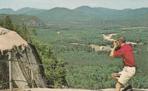 White Mountains View from Cathedral Ledge - North Conway NH, New Hampshire