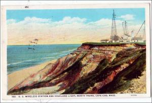 US Wireless Station & Highland Light, North Truro, Cape Cod