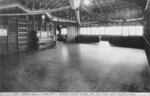 Pequot Minnesota Fawcett's Breezy Point Lodge Dance Hall Real Photo PC JJ658702